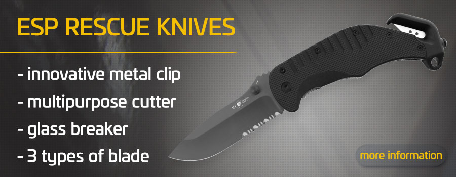 You can buy ESP Rescue Knives in our online store: Security-eshop.eu