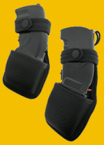 Nylon holders for stun guns