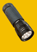Flashlights with LED DIODES